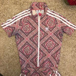 057184f96d4 adidas Dresses | Pink Logo Kaleidoscope Print Dress | Poshmark